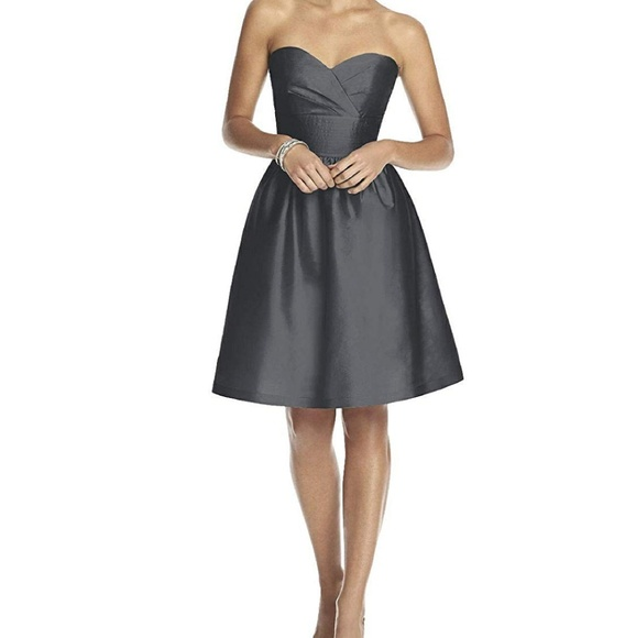 ALFRED SUNG Dresses & Skirts - Alfred Sung strapless dress size 8